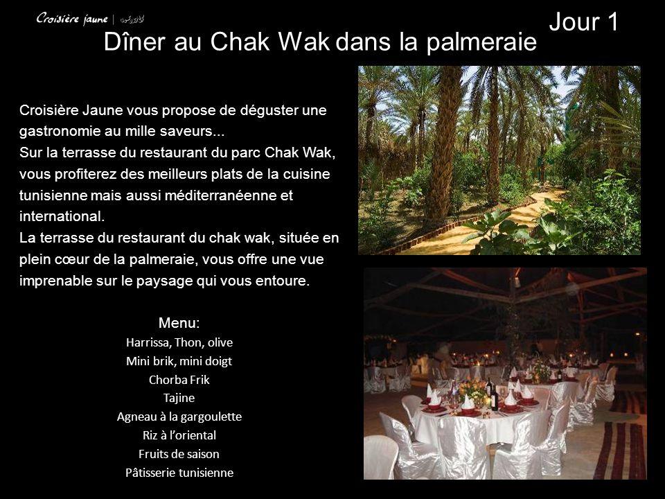 Croisière Jaune vous propose de déguster une gastronomie au mille saveurs... Sur la terrasse du restaurant du parc Chak Wak, vous profiterez des meill