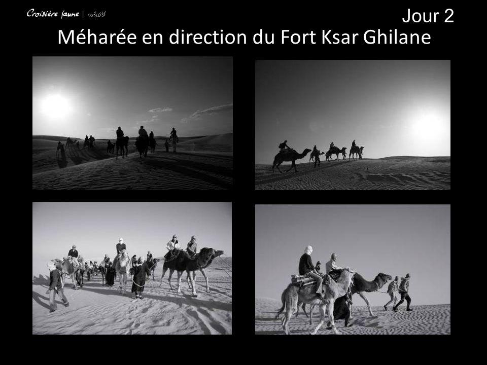 Méharée en direction du Fort Ksar Ghilane Jour 2