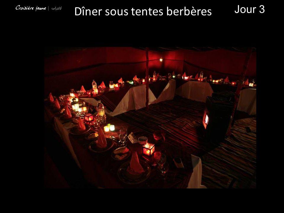 Dîner sous tentes berbères Jour 3