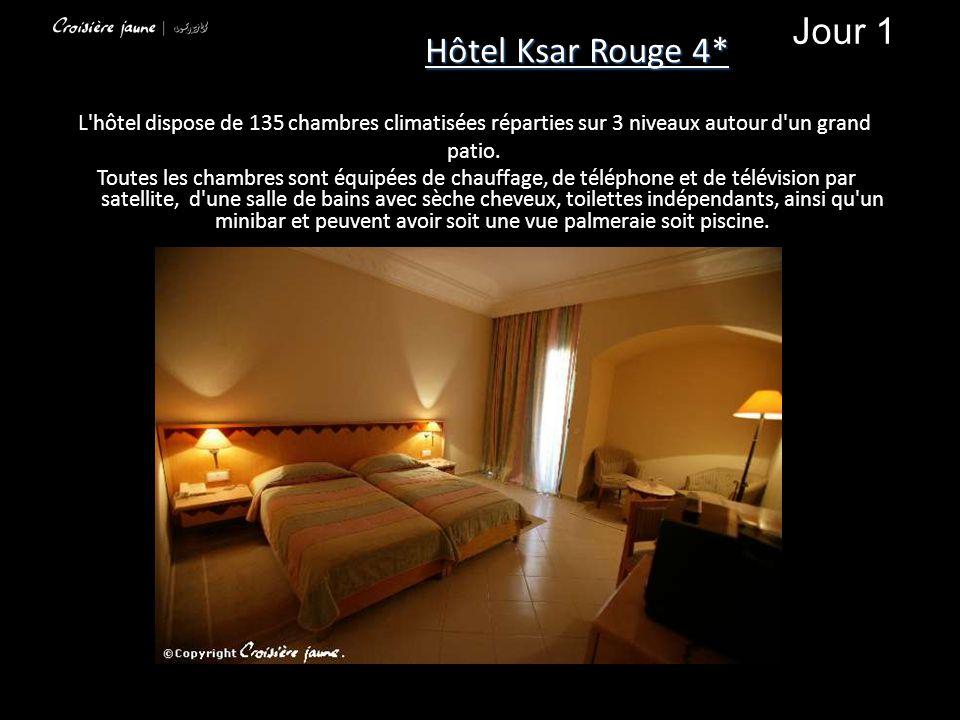 L'hôtel dispose de 135 chambres climatisées réparties sur 3 niveaux autour d'un grand patio. Toutes les chambres sont équipées de chauffage, de téléph