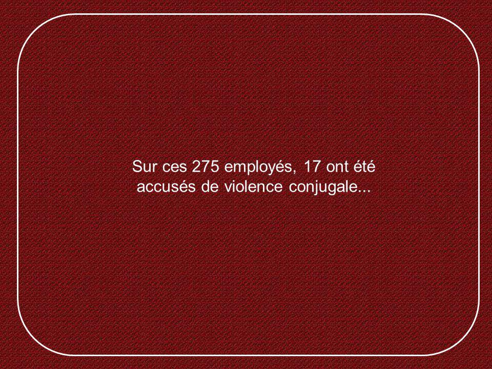 Pouvez-vous vous imaginer un instant dêtre à lemploi dune entreprise qui a seulement 301 employés et qui, en 2004, possédait les statistiques suivantes