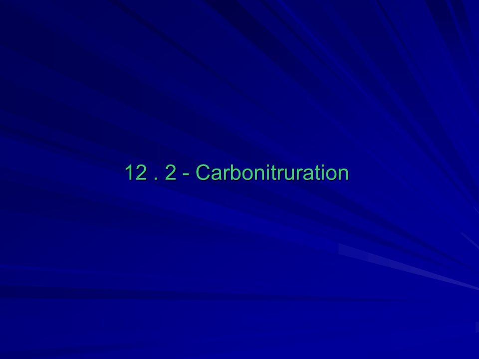 12. 2 - Carbonitruration