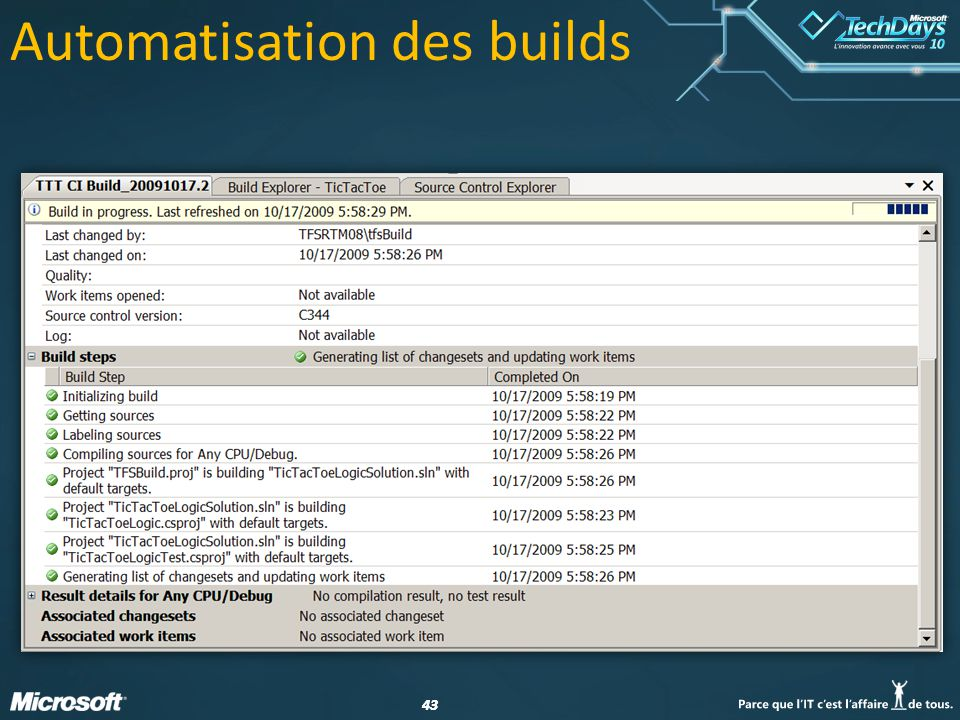 43 Automatisation des builds