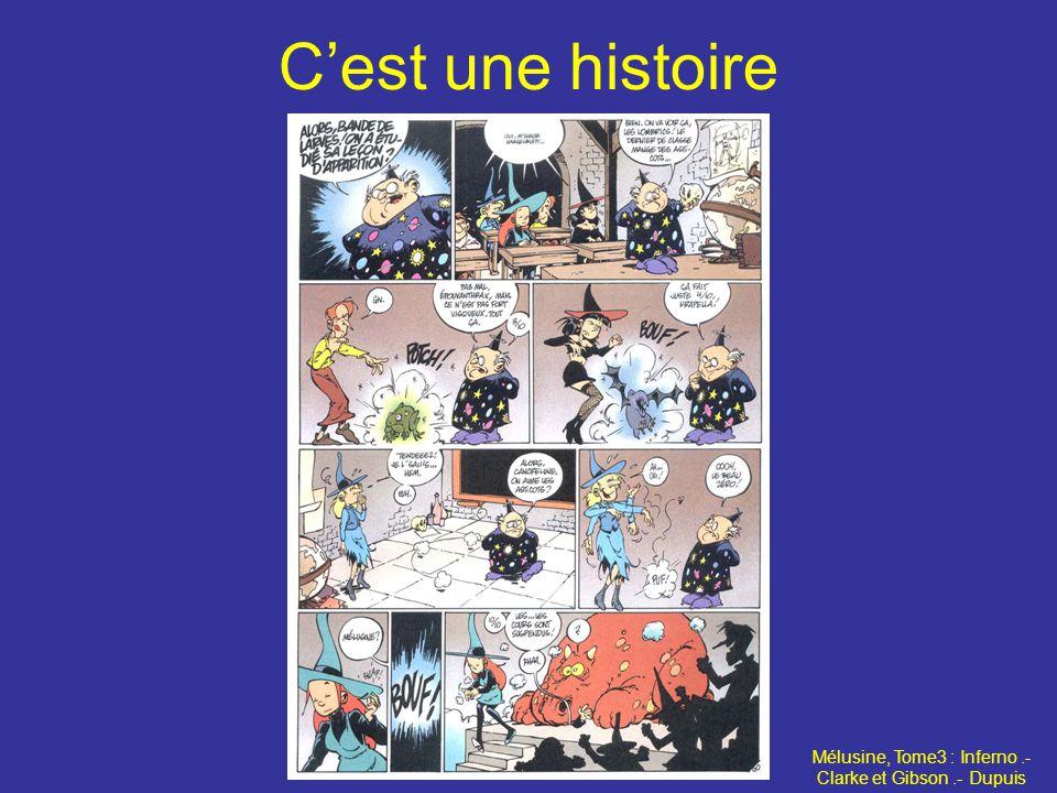 Cest une histoire Mélusine, Tome3 : Inferno.- Clarke et Gibson.- Dupuis