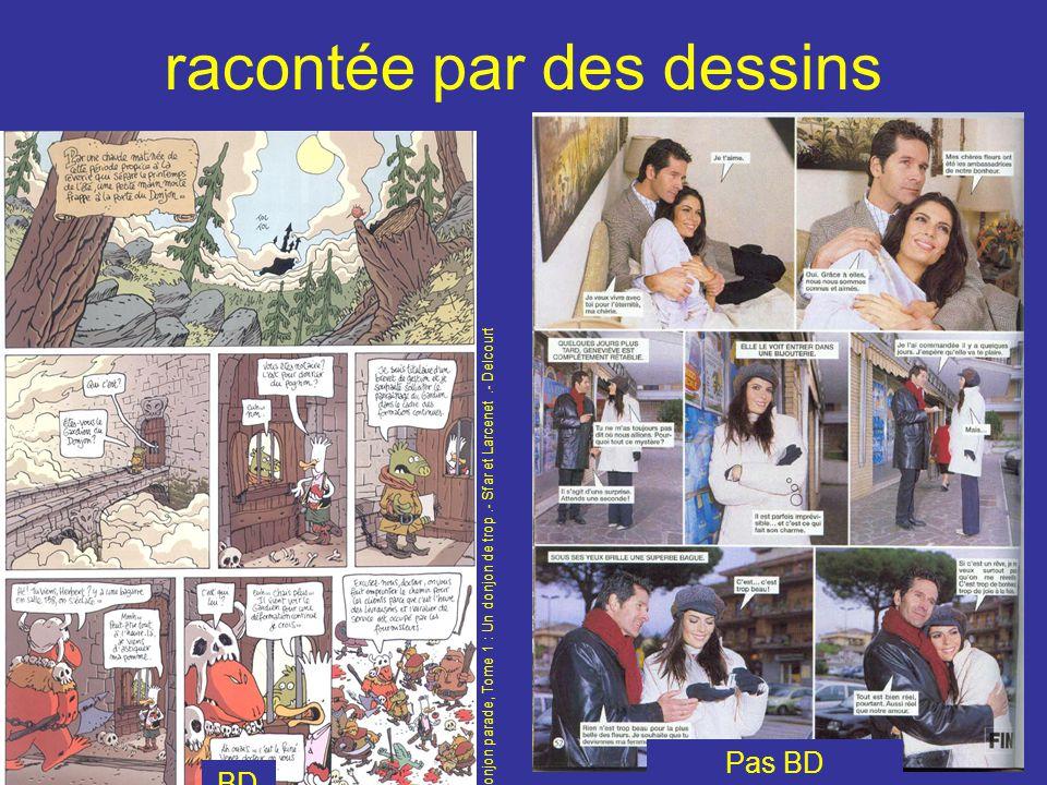 racontée par des dessins Pas BD BD Donjon parade, Tome 1 : Un donjon de trop.- Sfar et Larcenet.- Delcourt