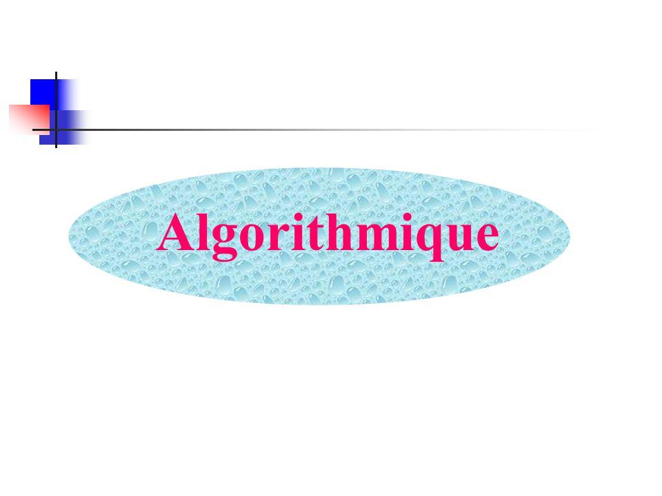 Titre : Boucle2 Variable i, y : Entier Début i y 0 faire i i+1 y y+i Écrire ( y = , y) Jusquà (i <7) Fin Instructions à structure répétitive (9) Exemple Valeurs de y .