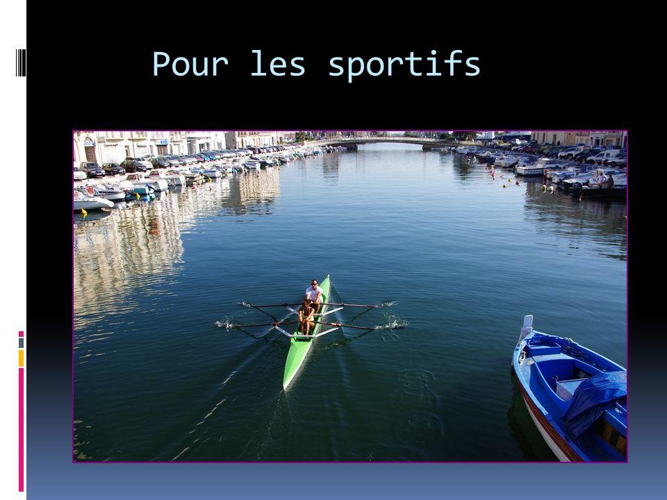 Pour les sportifs