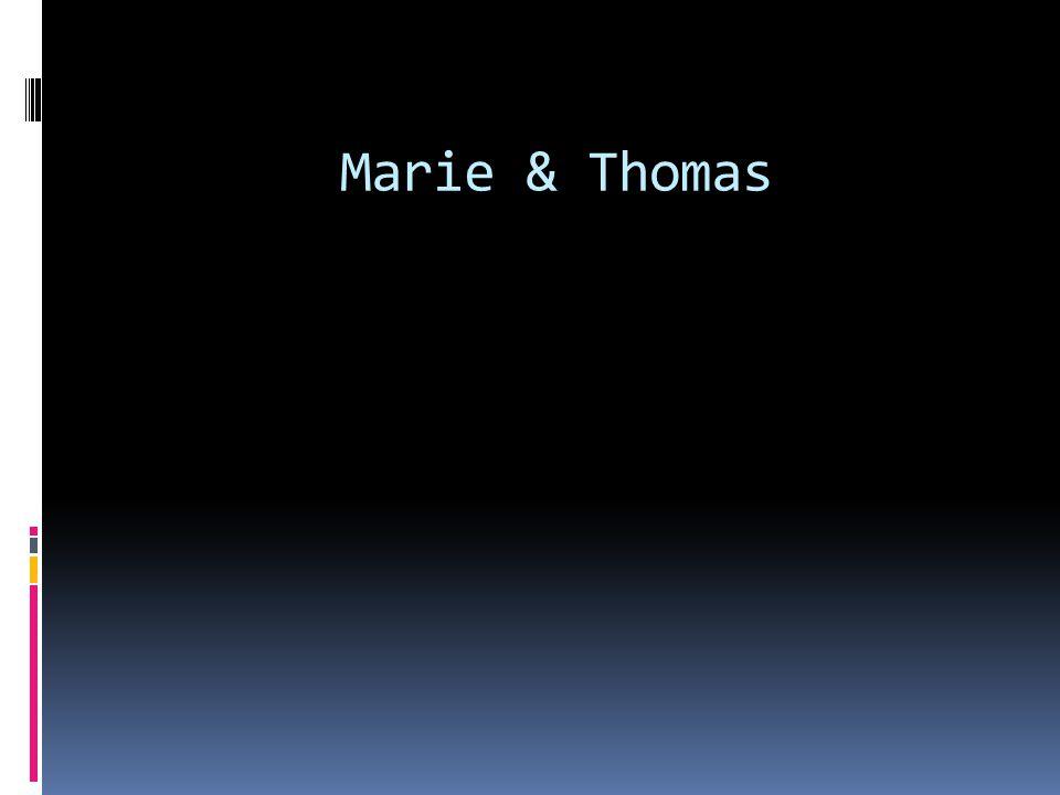 Marie & Thomas