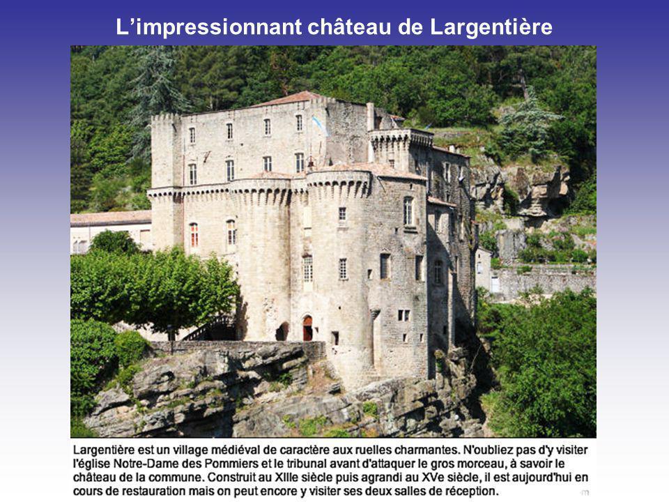 Vogüé et son château