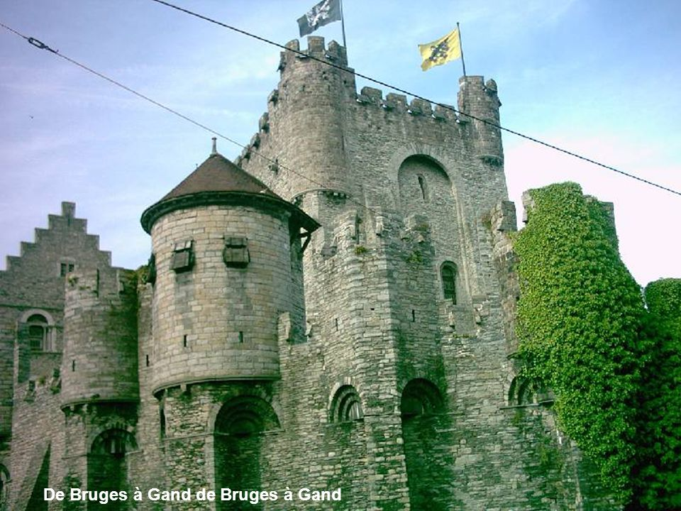 Ay Marieke, Marieke tous les étangs M'ouvrent leurs bras de Bruges à Gand