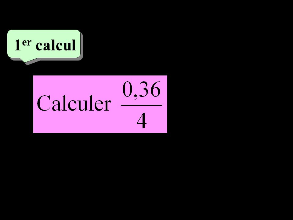 2 eme calcul