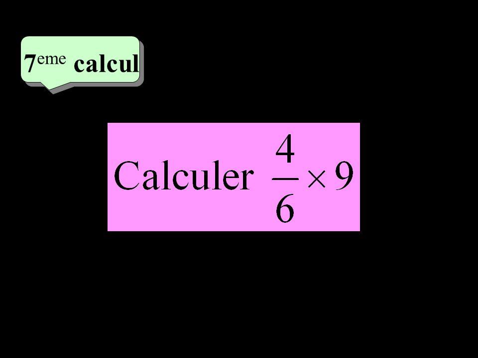 4 eme calcul 4 eme calcul 8 eme calcul Quelle est labscisse du point A ? 0 A 1
