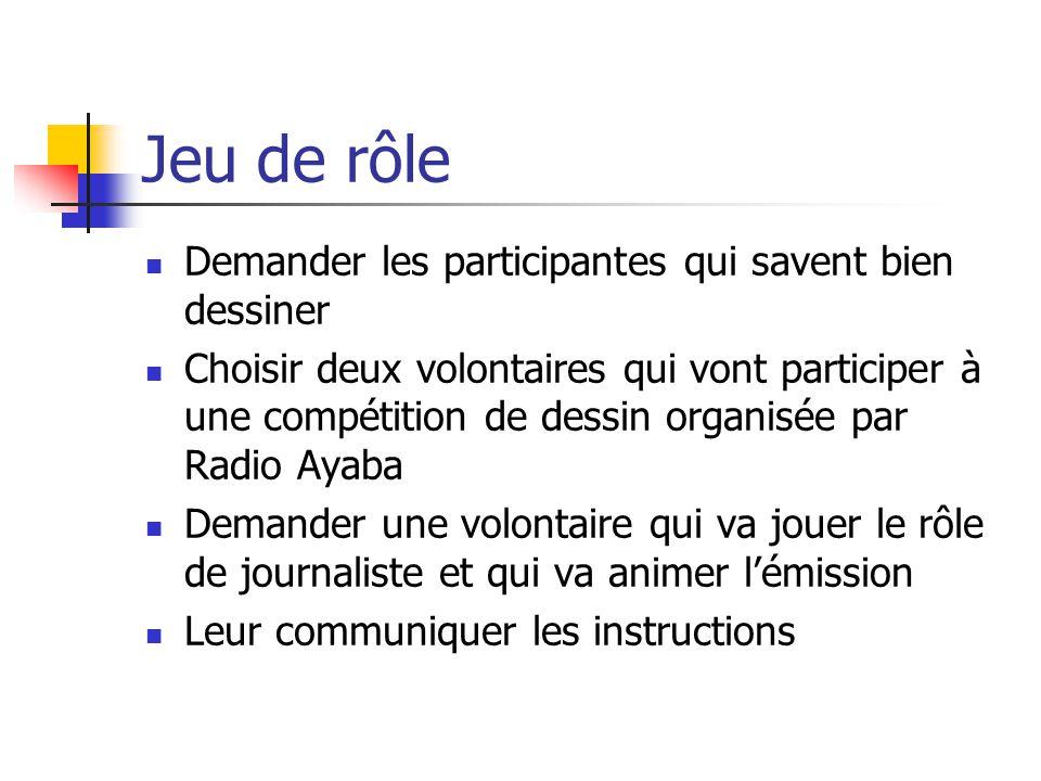 Message final (précédents ateliers) « Le sous préfet va passer pour le repassage et le délégué pour les dépliants ».