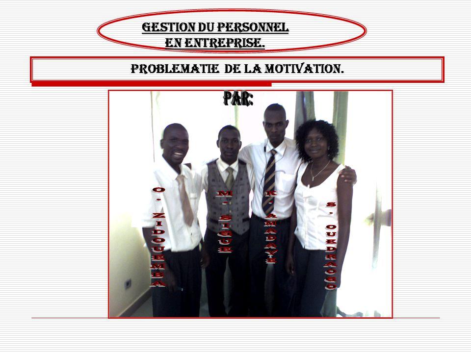 Motivation du personnel.2 SOMMAIRE TITRES INTRODUCTION DEFINITION DU CONCEPT STRATEGIES THEORIQUES THEORIE DE MASLOW THEORIE D HERZBERG THEORIE DE MURRAY APPLICATION EN ENTREPRISE MOTIVATION PECUNIAIRES MOTIVATION PSYCHOLOGIQUES CONCLUSION SOURCES POINTS I.