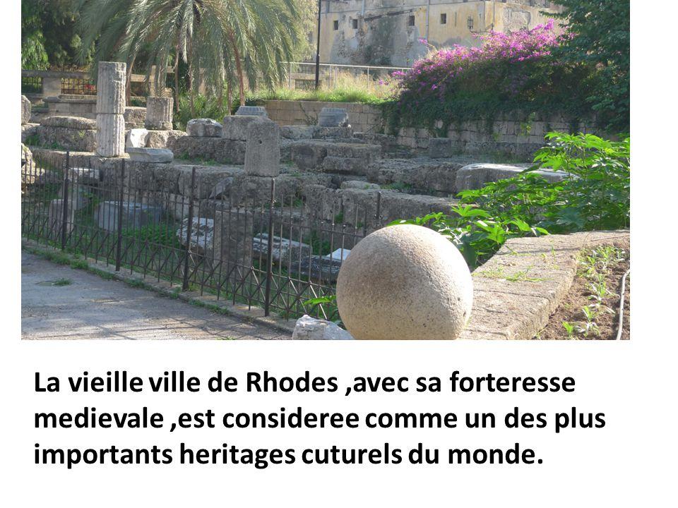 4 km de murailles encerclent la vieille ville.