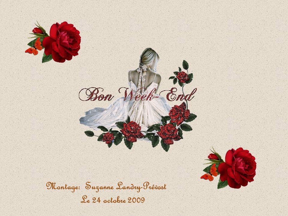 Montage: Suzanne Landry-Prévost Le 24 octobre 2009
