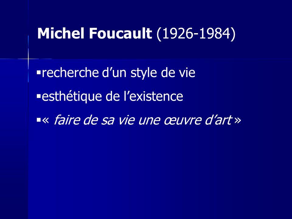 Sartre / Foucault : pas si éloignés Foucault : quel est le champ plus vaste que le sujet .