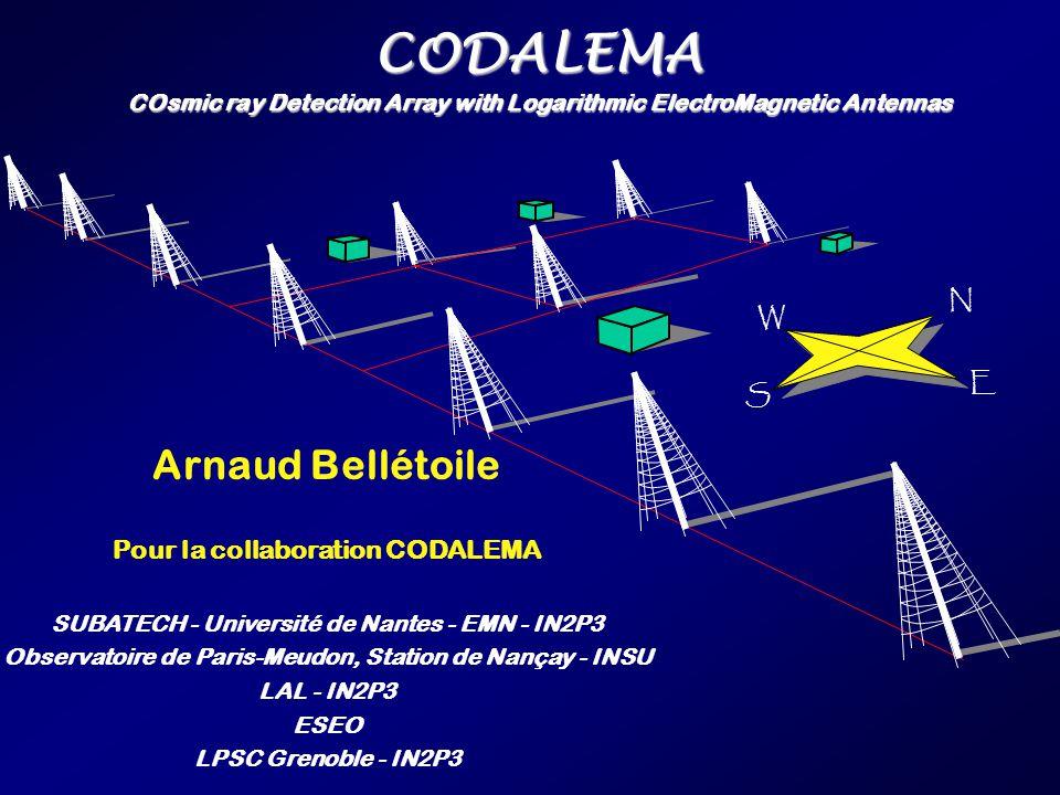 22 30 Juin 2005Arnaud Bellétoile - Semaine SF2A Strasbourg Solar activity as seen by the DAM on 2005/01/15