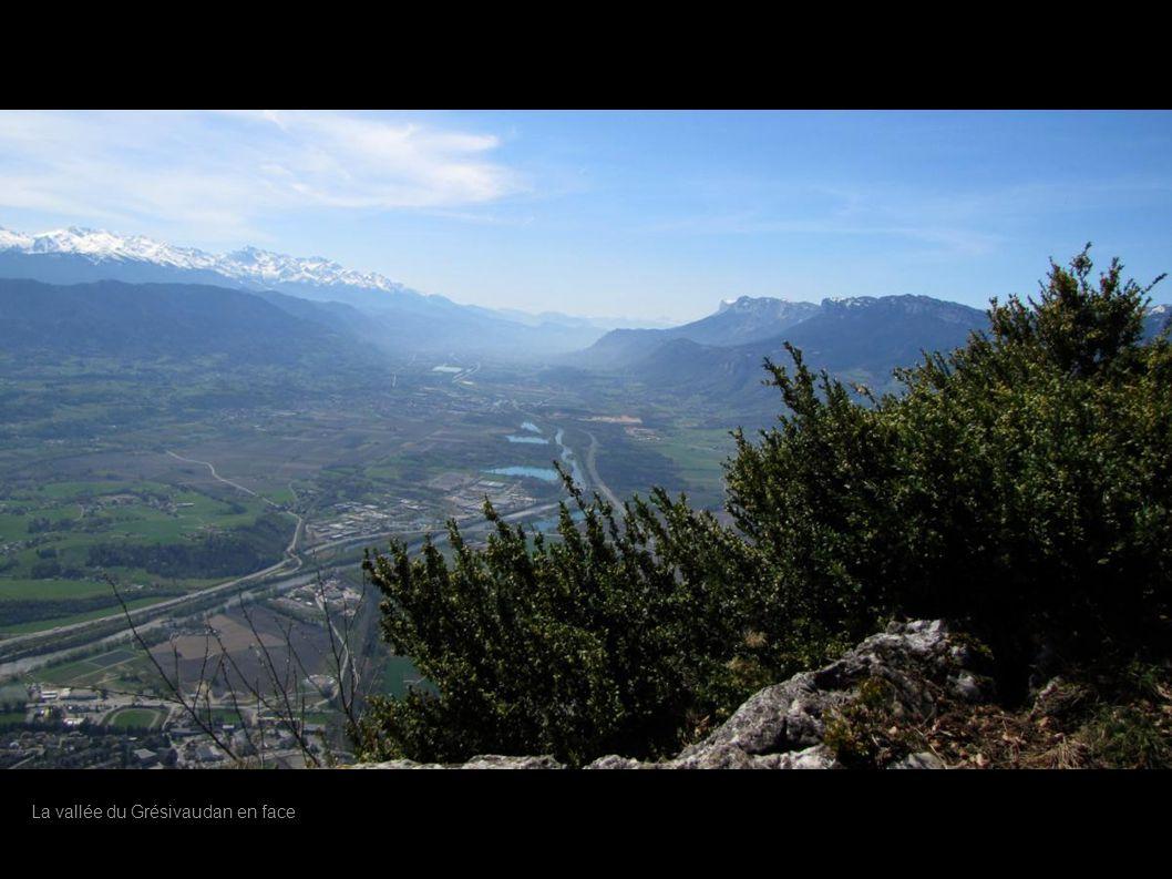 La vallée du Grésivaudan en face