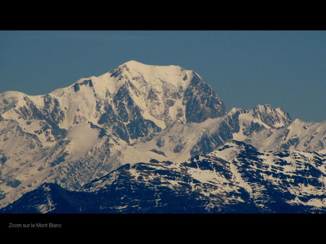 Zoom sur le Mont Blanc