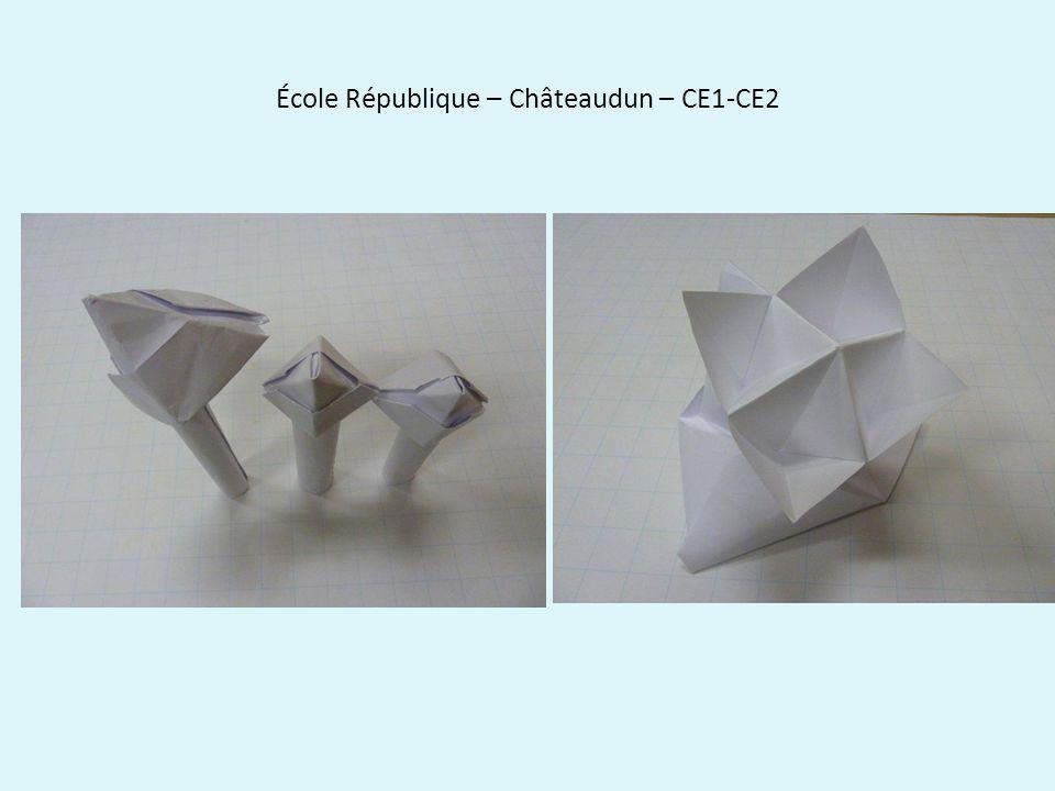 École République – Châteaudun – CE1-CE2