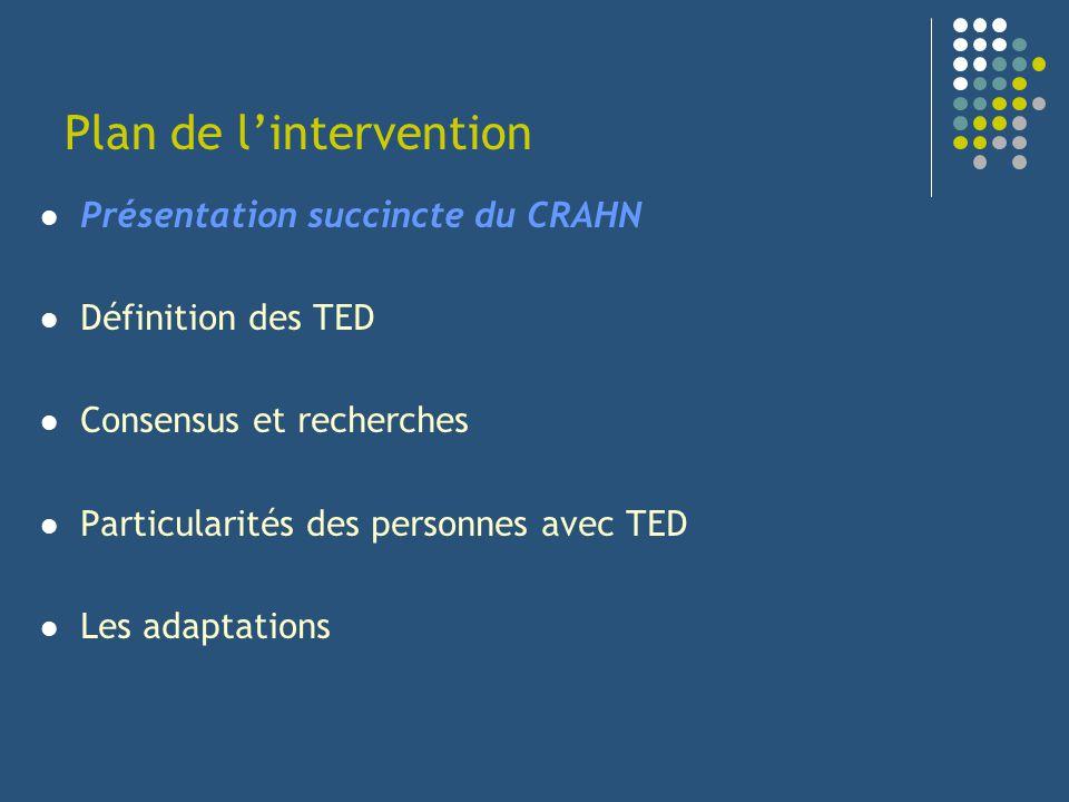 Trouble des fonctions exécutives Attention & Concentration Elève avec TED Difficultés à traiter et coordonner linformation Difficultés attentionnelles / distractibilité Comment laider.