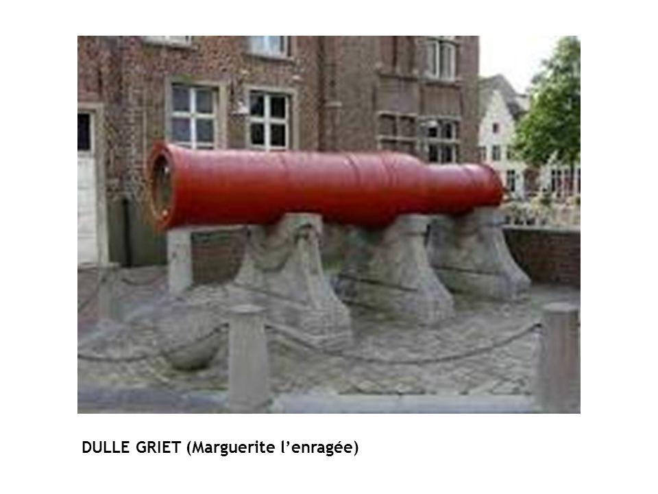 DULLE GRIET (Marguerite lenragée)