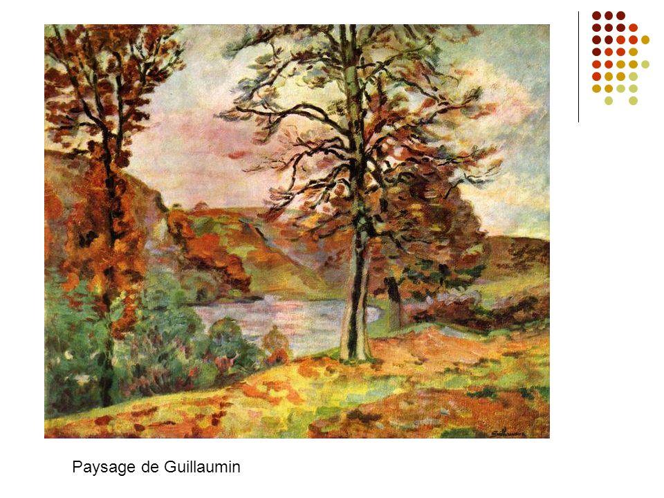 Les peintures typiques sont formé par les traits très courts (la touche) => la naissance de la structure des peintures les couleurs claires L´accent n´est pas aux details, mais au effect total