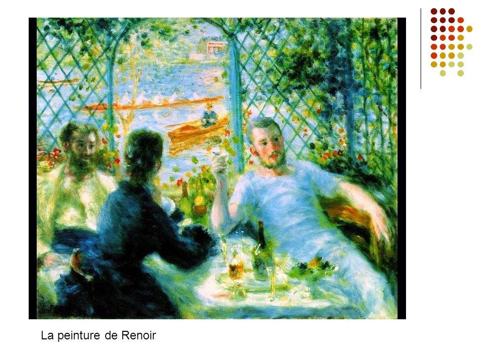 La peinture de Renoir