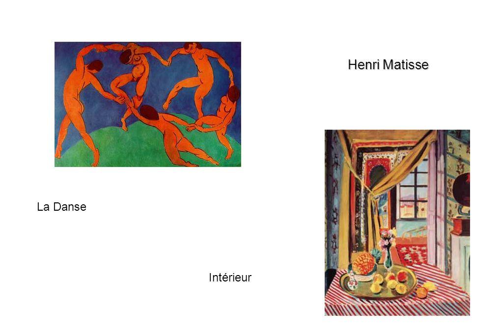 Intérieur La Danse Henri Matisse