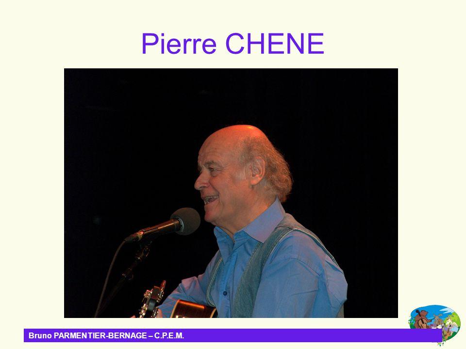 Bruno PARMENTIER-BERNAGE – C.P.E.M. Pierre CHENE
