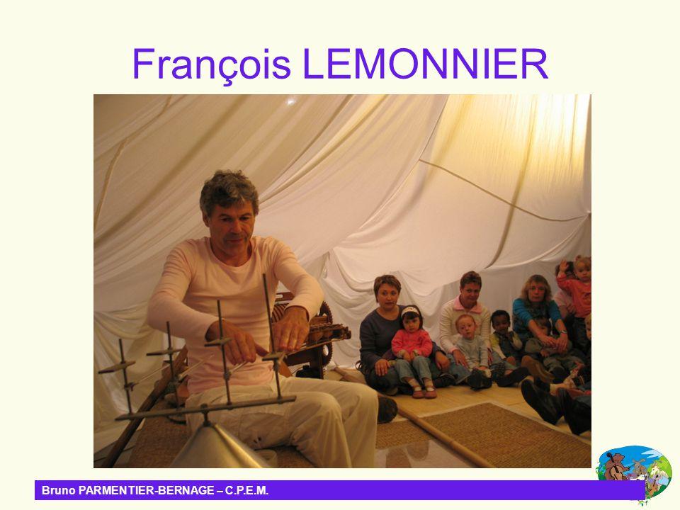 Bruno PARMENTIER-BERNAGE – C.P.E.M. François LEMONNIER