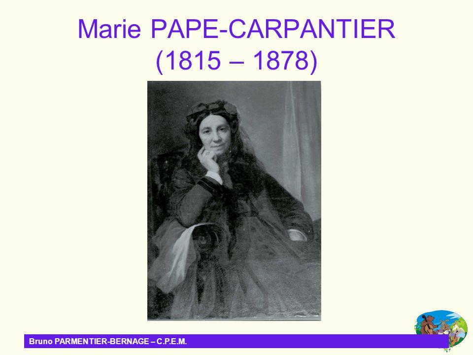Bruno PARMENTIER-BERNAGE – C.P.E.M. Lécole laïque