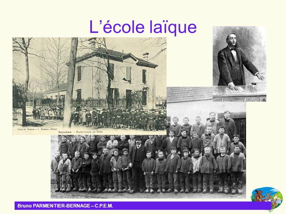 Bruno PARMENTIER-BERNAGE – C.P.E.M. Jean-Luc ROUDAUT