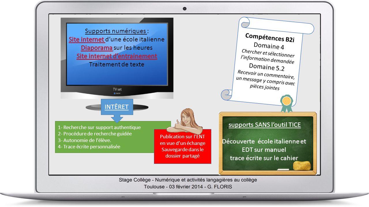 1- Recherche sur support authentique 2- Procédure de recherche guidée 3- Autonomie de lélève.