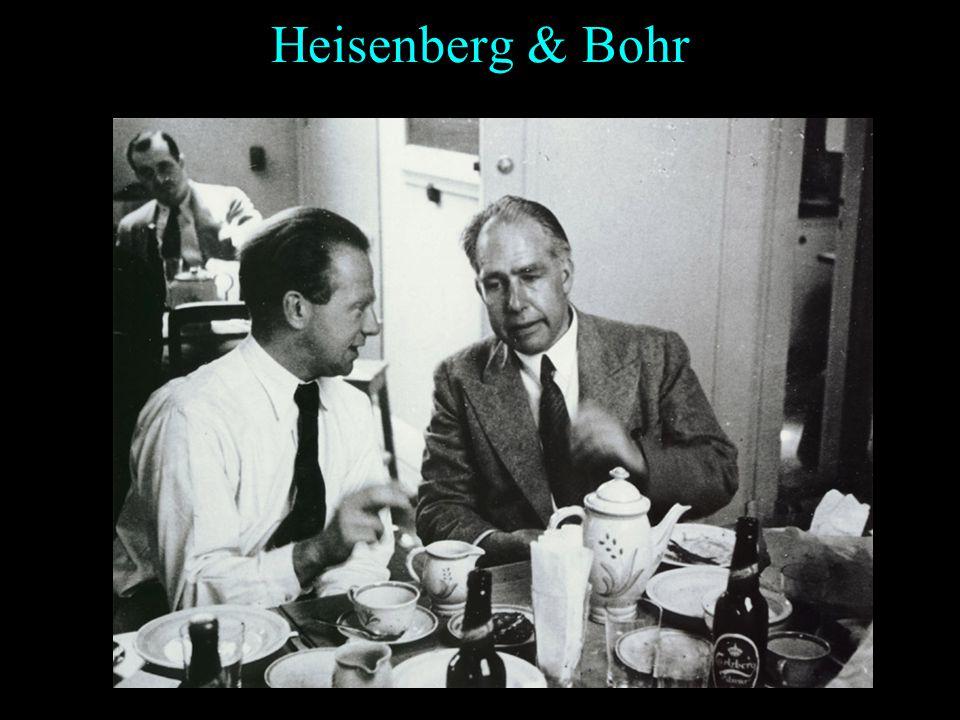 Heisenberg Prix Nobel (1932) Heisenberg obtient le prix Nobel de physique en 1932 : Pour létablissement de la mécanique quantique dont lapplication a
