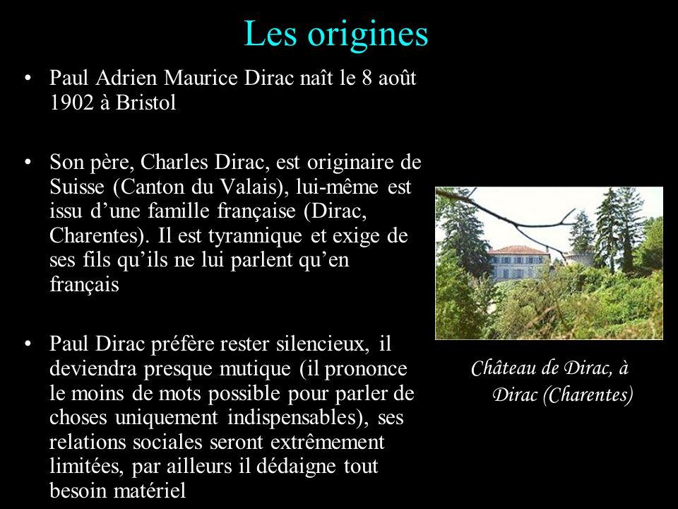 Paul Adrien Maurice Dirac (1902-1984)