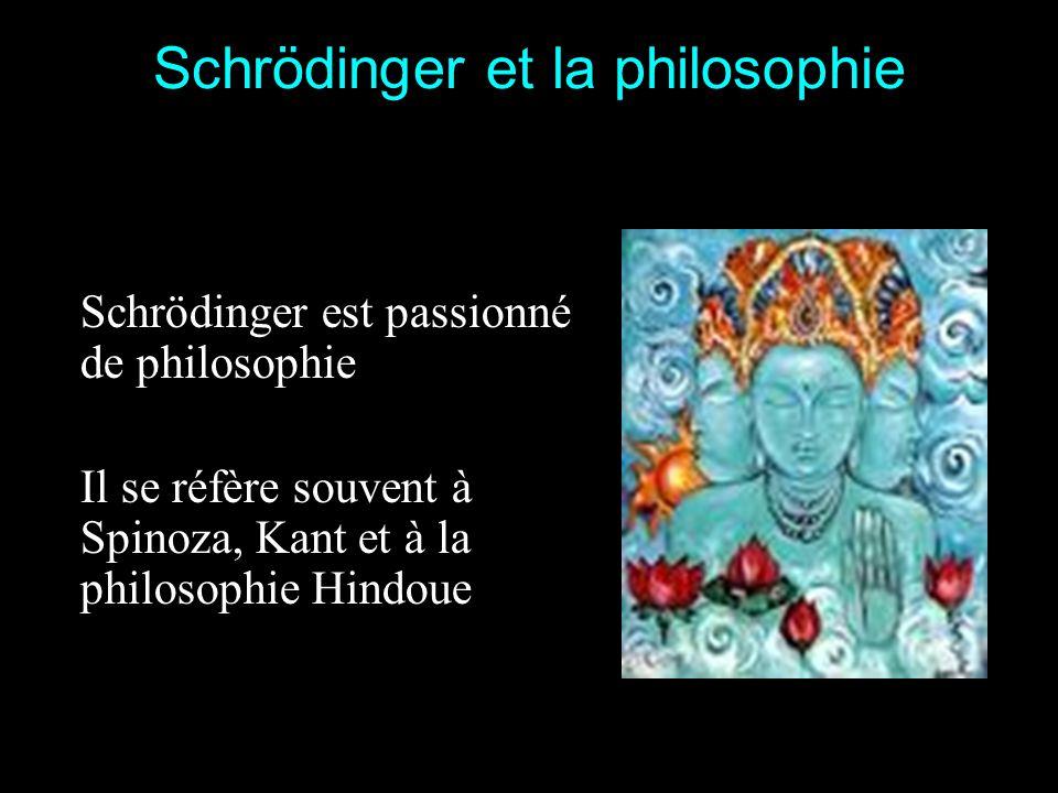 Einstein à Schrödinger Lidée de votre article montre un réel génie En février 1926 Schrödinger est invité à présenter les travaux de de Broglie lors d