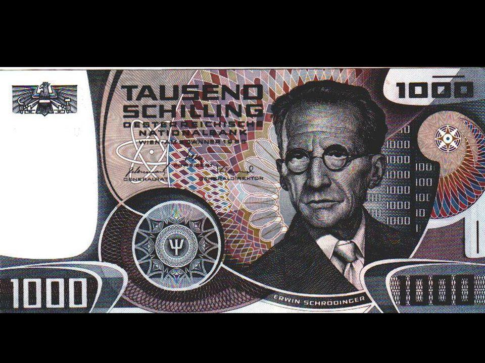 1961 : Schrödinger meurt à Vienne le 4 janvier Sur sa tombe on peut lire sa célèbre équation HΨ=EΨ Disparition