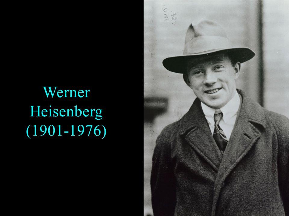 La naissance de la mécanique quantique orthodoxe et ses problèmes dinterprétation Plan Werner Heisenberg Paul Adrien Maurice Dirac Erwin Schrödinger M