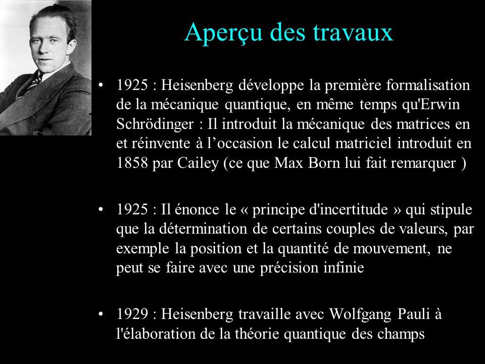 Il passe son baccalauréat en 1920 (à 19 ans) et son doctorat en 1923 (à 23 ans) sous légide de Sommerfeld Il devient lassistant de Max Born à Munich,