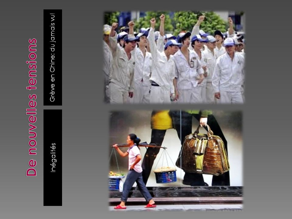 Grève en Chine: du jamais vu! Inégalités