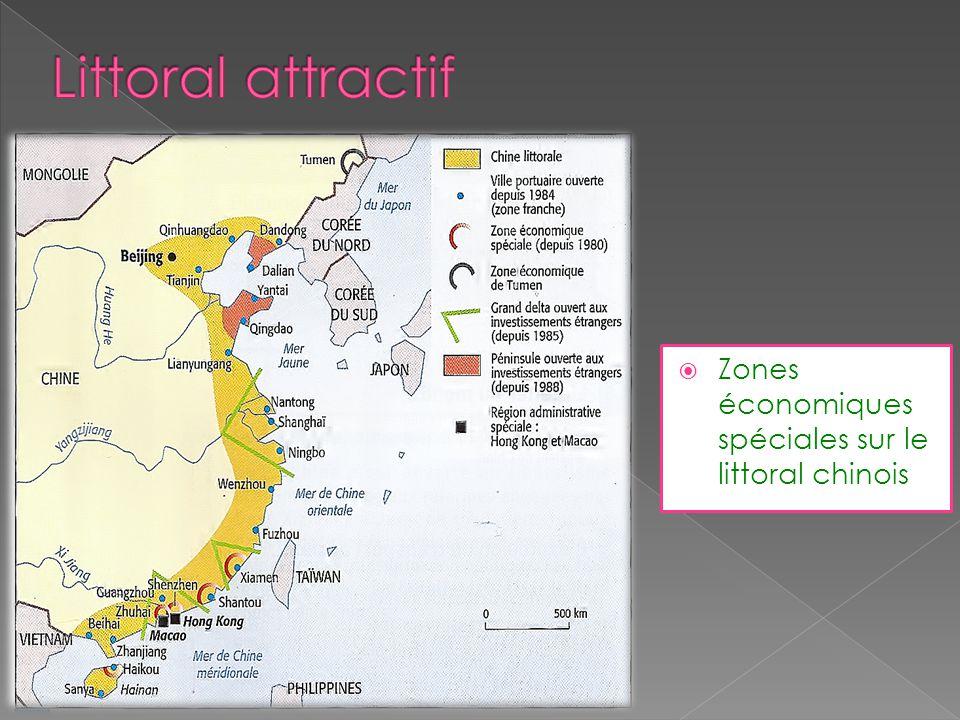 Zones économiques spéciales sur le littoral chinois