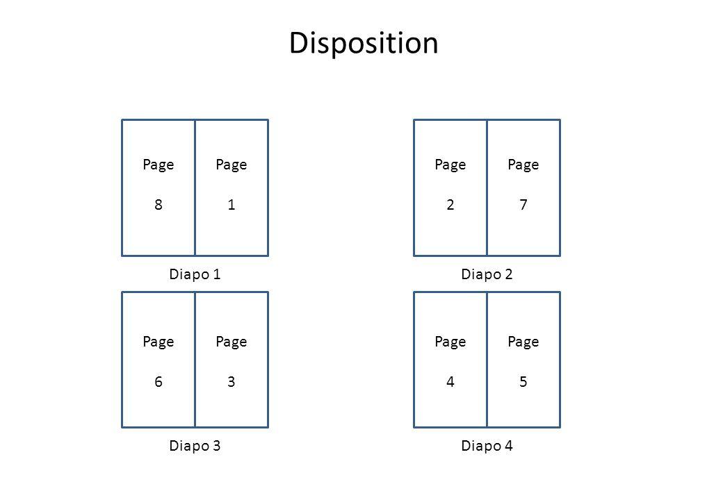 Disposition Diapo 1 Diapo 4Diapo 3 Diapo 2 Page 1 Page 5 Page 4 Page 6 Page 3 Page 7 Page 2 Page 8
