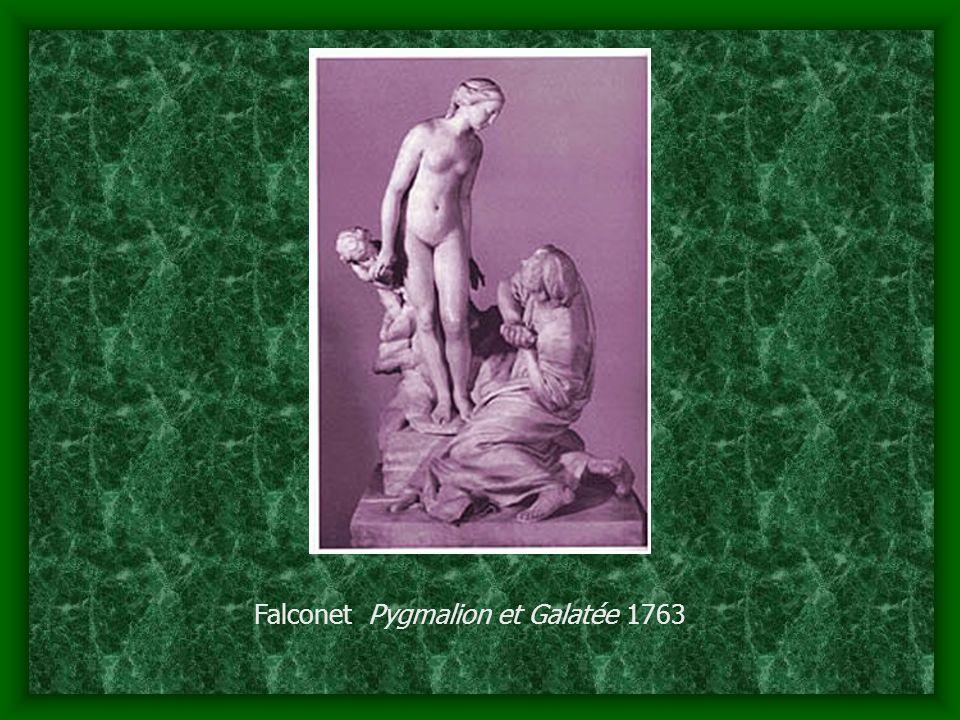 Falconet Pygmalion et Galatée 1763