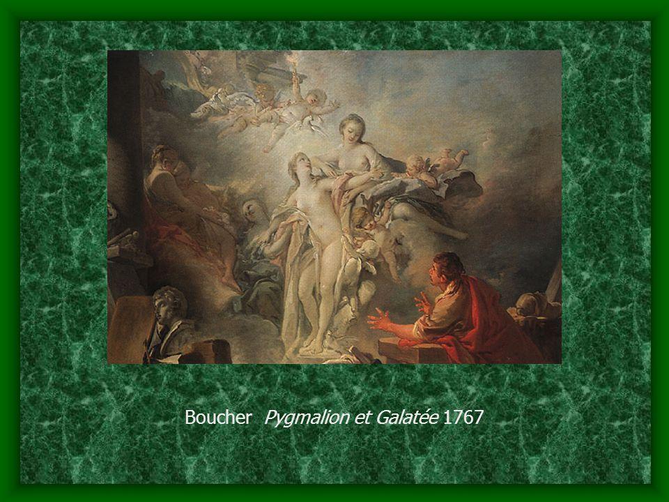 Boucher Pygmalion et Galatée 1767