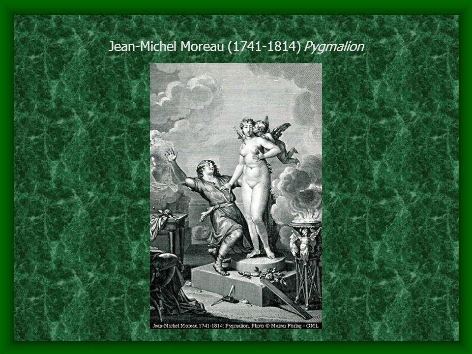 Jean-Michel Moreau (1741-1814) Pygmalion
