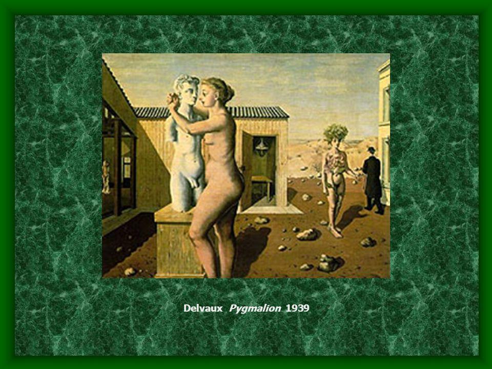 Delvaux Pygmalion 1939