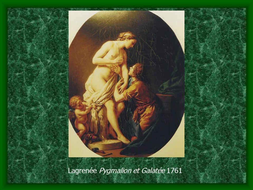 Lagrenée Pygmalion et Galatée 1761