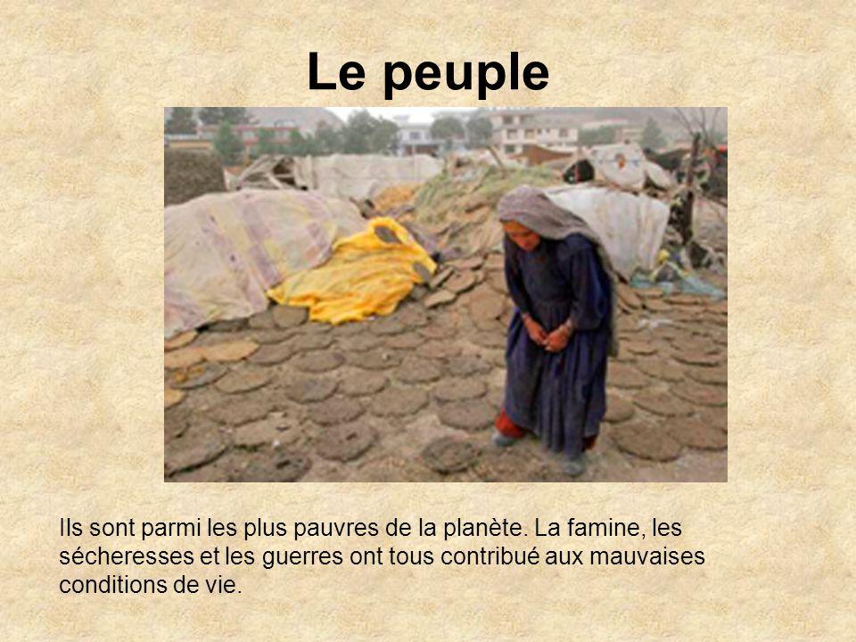 Le peuple Ils sont parmi les plus pauvres de la planète.